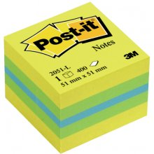 3M Märkmekuup Post-it Mini Cube 51x51mm/400...