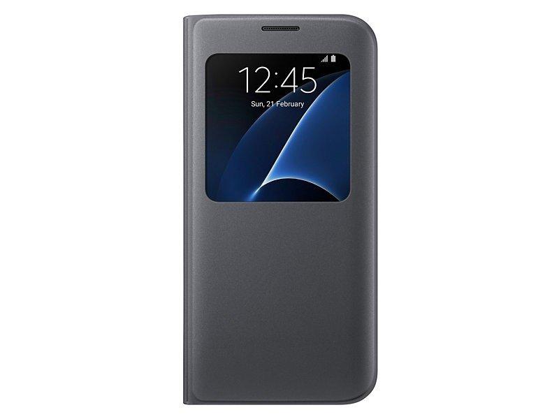 16699b2e22a Samsung S View cover für Galaxy S7 edge black EF-CG935PBEGWW - OX.ee
