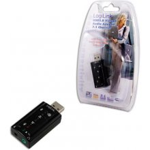 LogiLink USB Audio adapter, 7.1 sound effect