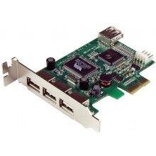 StarTech.com PEXUSB4DP, PCIe, 4x USB A FM...