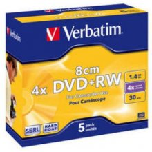 Диски Verbatim 1x5 DVD+RW 1,4GB JC 4x Speed...