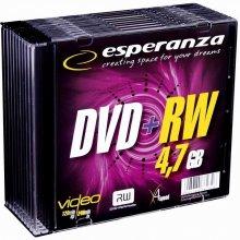 Toorikud ESPERANZA Płyta DVD+RW 4,7GB x4 -...