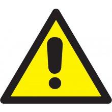 Apli Etiketid 114x114mm, ohtlik