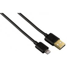 Hama Juhe USB->Lightning MFI, 1,5m чёрный