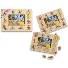 Brimarex Wooden Princess jigsaw puzzle