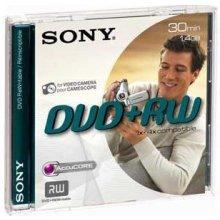 Диски Sony DVD+RW 1,4GB 8 cm Jewel чехол DPW...