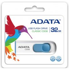 Mälukaart ADATA USB flash Classic C008 32GB...