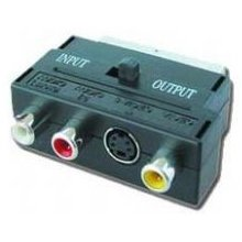 Gembird adapter SCART plug to 3 RCA jacks ja...