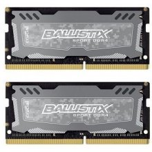 Mälu Ballistix Sport LT 8GB Kit DDR4 4GBx2...