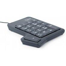 Klaviatuur Gembird USB numpad koos...