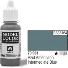 Vallejo Farba Nr60 Intermed. Blue 17ml