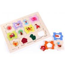 Brimarex Jigsaw puzzle с 2in1 Farm pins