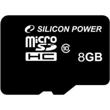Флешка SILICON POWER картя паямти microSDHC...