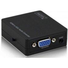 ASSMANN Signal konverter HDMI to VGA koos...