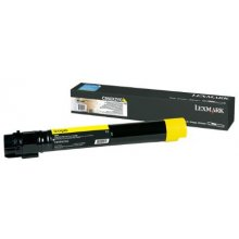 Lexmark C950X2YG Cartridge, kollane, 22000...