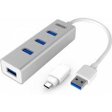 Unitek Hub 4x USB 3.0. + USB type-C, Y-3082B