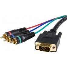 StarTech.com 3ft VGA - RCA, 0.9, VGA...
