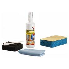 V7 VCL1491, Liquid, Foam, Microfibre, белый