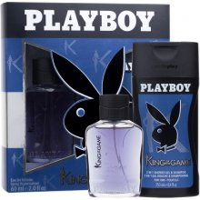 PLAYBOY King of the Game, Edt 60 ml + гель...