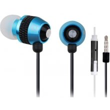 Gembird Stereo metal earphones with mikrofon...
