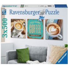 RAVENSBURGER RAVEN. 3X500 EL. Coffee...