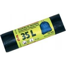 Plasta Prügikotid nööridega BALT 35L...