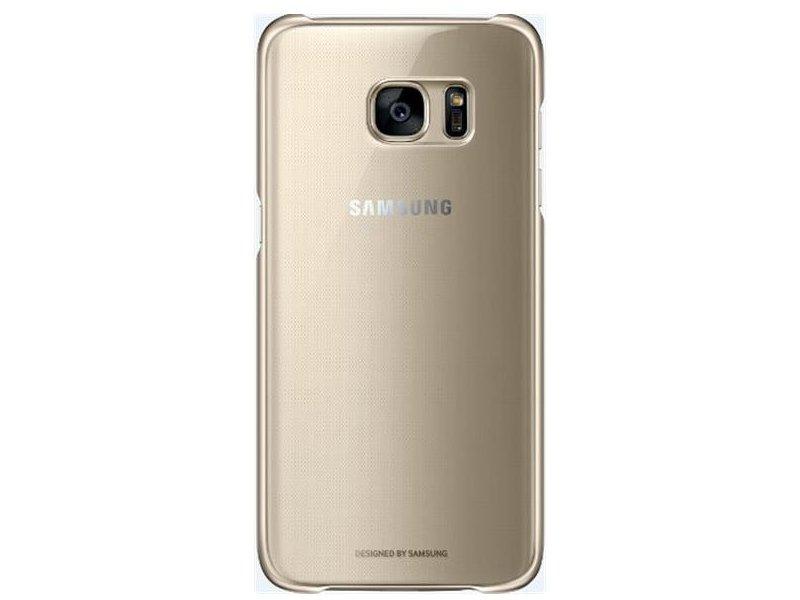 ab1e92ea241 Samsung Clear Cover Galaxy S7 Edge / G935F gold EF-QG935CFEGWW - 01.ee