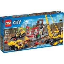 LEGO Demolition Site