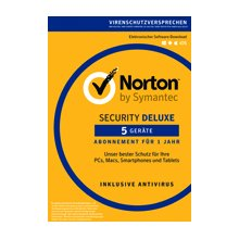 SYMANTEC Norton Security Deluxe 3.0 - 5...