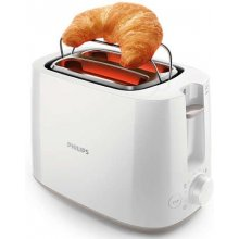 Philips HD2581/00 Toaster, 2-Schlitz, 830W...