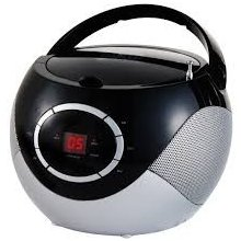 Raadio ADLER CD Player (boombox) black...