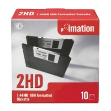 IMATION DSHD 1.44MB DOS 10er Pack