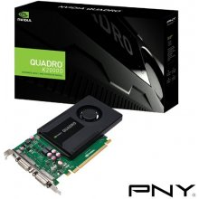 Videokaart PNY Quadro K2000 DVI