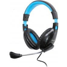 TRACER Headset z mikrofonem DIZZY BLUE