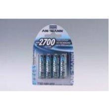 Ansmann 1x4 rech. батарея 2700 Mignon AA...