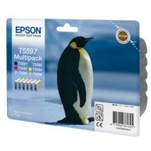 Tooner Epson T5597 tint Cartridges Multipack...