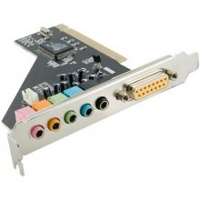 Helikaart 4World PCI Sound Card 6 channel