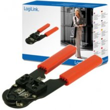 LogiLink Crimping tool for RJ45 koos cutter...