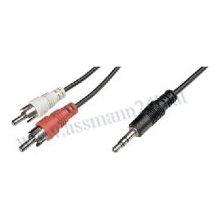 OEM 3.5mm stereo plug - RCA dual plug (red...