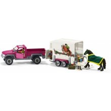 Schleich Horse Club Pick-up koos horse box