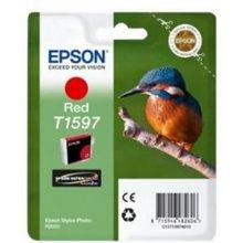 Тонер Epson Ink T1597 красный | 17ml |...