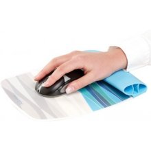 FELLOWES мышь и wrist silicone pad Ocean