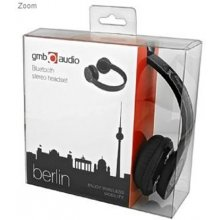 Gembird наушники BLUETOOTH BERLIN/BHP-BER-BK