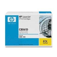 Tooner HP C8061D Toner must Kit