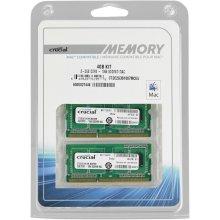 Mälu Crucial 4GB (2x2GB) DDR3 1066 MT...