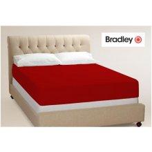 Bradley Kummiga voodilina 160x200 punane