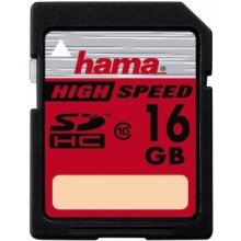 Флешка Hama High Speed Gold SDHC 16GB