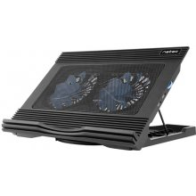 Natec laptop cooling pad HERON Black...
