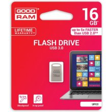 Флешка GOODRAM POINT серебристый 16GB USB3.0