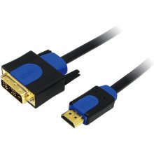 LogiLink - kaabel HDMI-DVI High Quality 2m